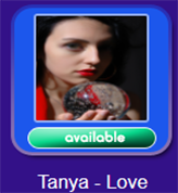 Psychic Tanya 'Love' Pyshcic Reader