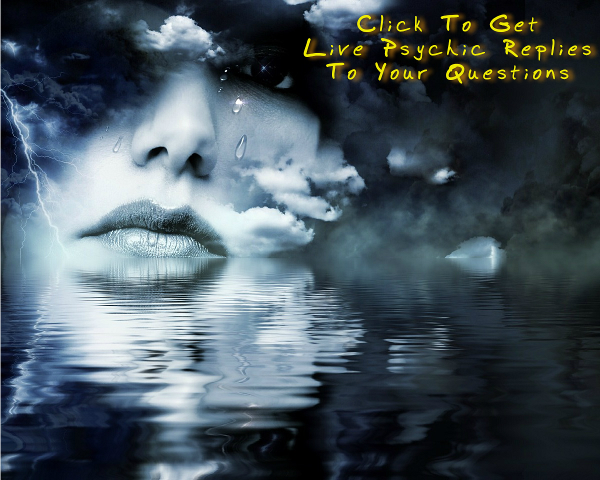 click to get live Psychic replies to your questions