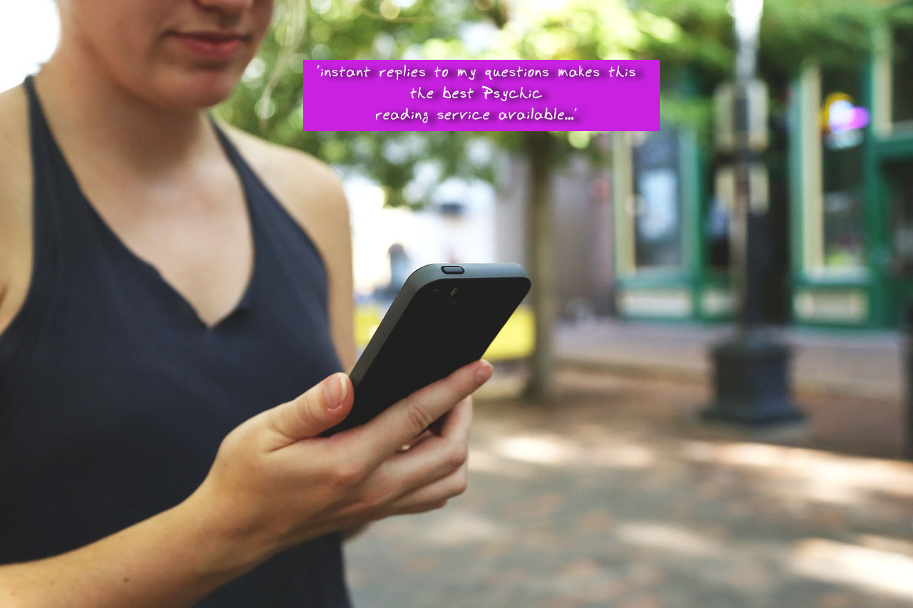 instant replies makes this the best Psychic reading service available